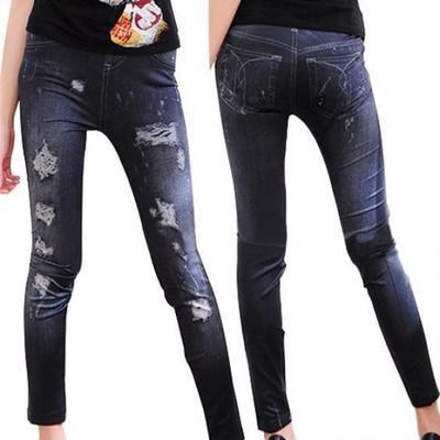 Женские узкие джинсы-легинсы