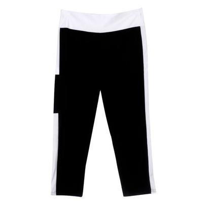 Высокие талии Фитнес Йога Спортивные штаны Растяжка семь очков Поножи
