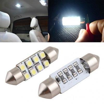 Светодиодные лампы в автомобильный салон ,2 шт. 36-мм