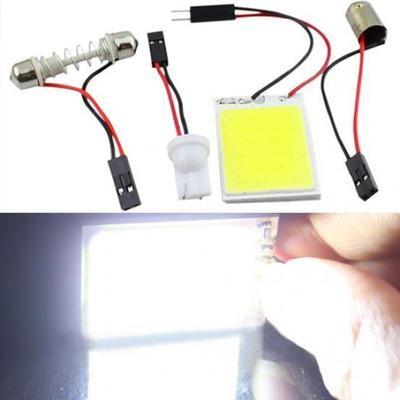 Светодиодные автомобильные лампы 4W 12V с BA9S адаптером
