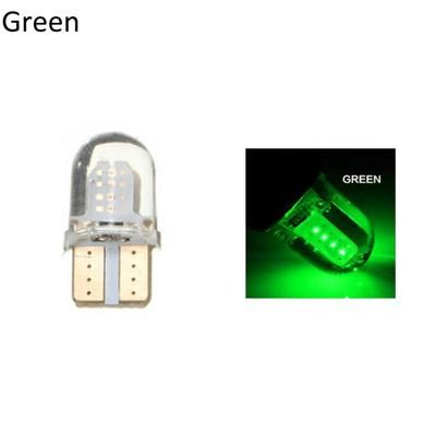 2Pcs T10 W5W COB 12V Супер яркая лампа для чтения маркера для светодиодных ламп