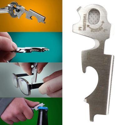 Многофункциональный ключ 8 в 1 из нержавеющей стали