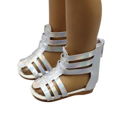 Тапочки Обувь Сандалии подходят 18-дюймовые американские аксессуары для девочек-кукол