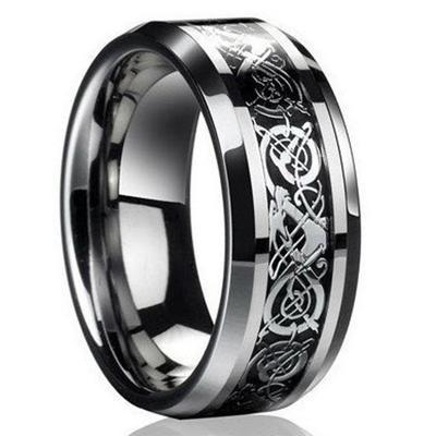 Мужское кольцо с кельтской резьбой
