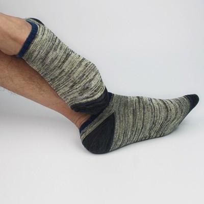Мужские хлопчатобумажные теплые носки