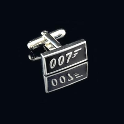 Запонки с надписью 007