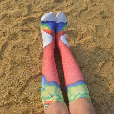 3D Animal Printed Женщины Мужчины Взрослые Повседневные Носки Мужские Длинные Ноги Носки Носки