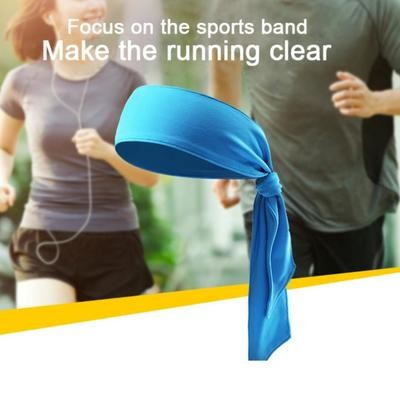 Мода Unisex Sport Sweat Sweatband Headband Теннисный тренажерный зал Stretch Head Hair Band