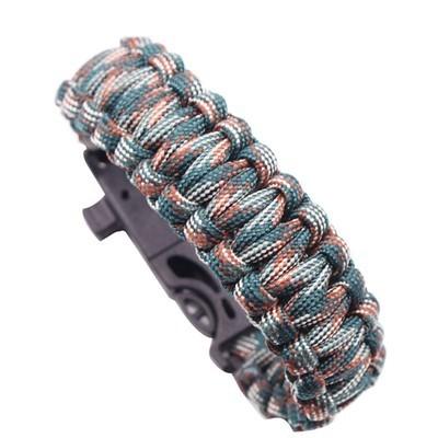 Открытый многофункциональный ручной канат кемпинг приключения экстренный браслет A