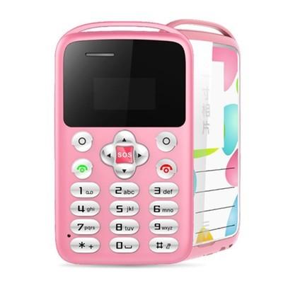 Мобильный телефон Rusiasmall Mobile Phone 4.5 мм Ультра тонкий карманный мини-телефон M5 Будильник