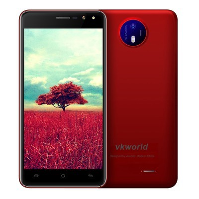 """Rusiasmall Vkworld F2 3G Smartphone 5.0 """"2.5D Android 6.0 MTK6580A Quad Core 1.3GHz US Plug"""