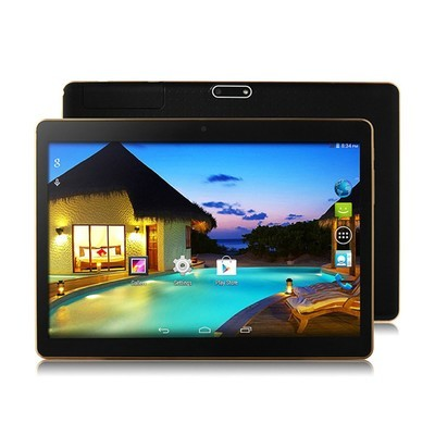 Rusiasmall 10.1Inch Android 6.0 3G Quad Core Tablet PC 1GB + 16GB Dual Camera Wifi Bluetoot