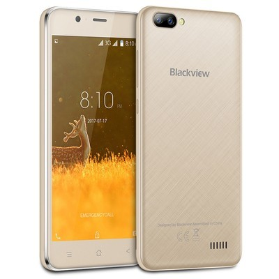 Blackview A7 3G Smartphone Android 7.0 5.0-дюймовый IPS-экран MTK6580A 1GB + 8GB