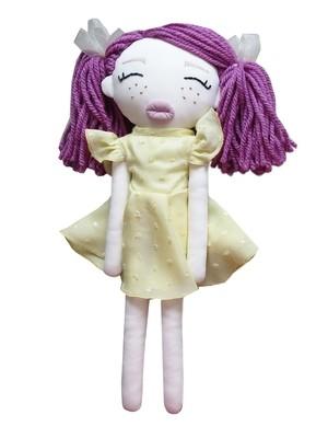 Doll Vivi mit den lila Haaren