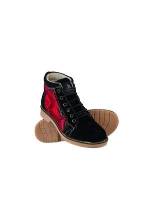 Boots with Mayan Loom
