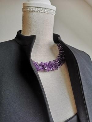 Ogrlica iz ametista