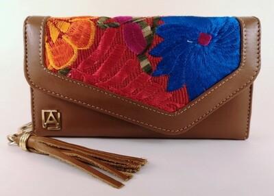 Wallet handbag Maria Cafe Telar
