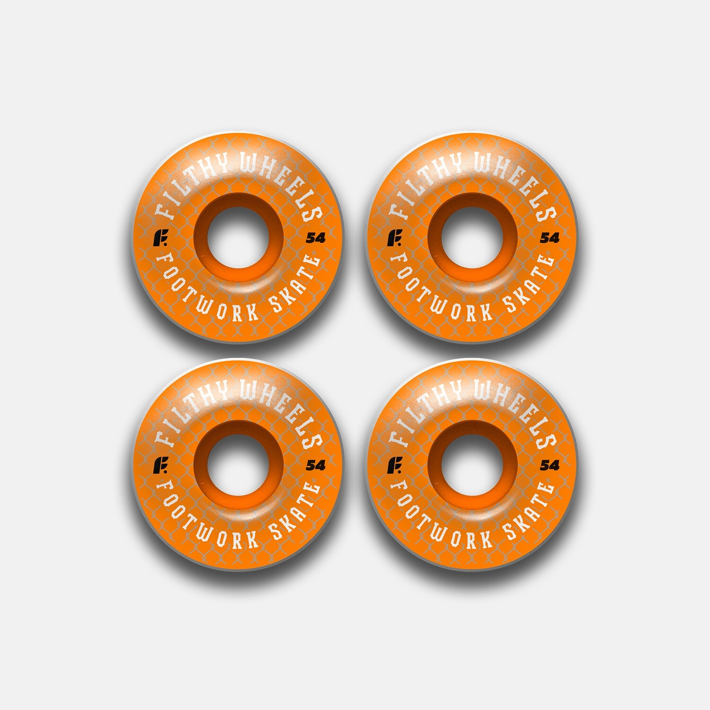 Комплект колес Footwork Filthy Orange 85A