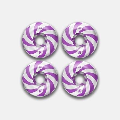 Комплект колес Footwork Swirl Purple 99A