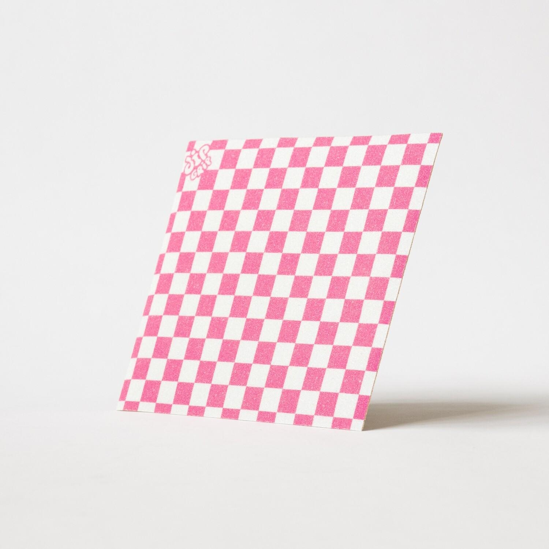 Шкурка DipGrip Mini Check Pink