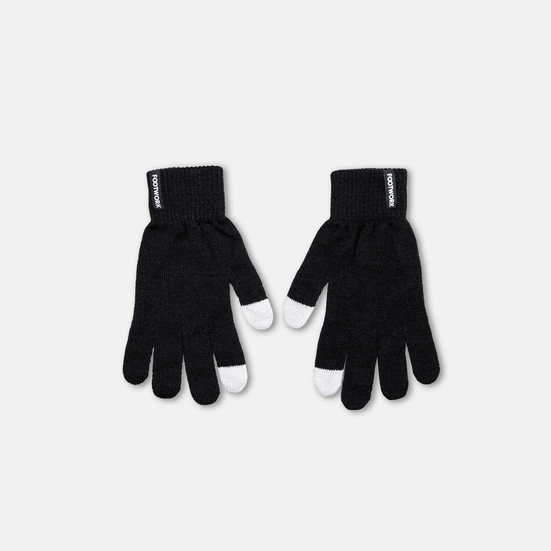 Вязаные перчатки Footwork iFingers Black