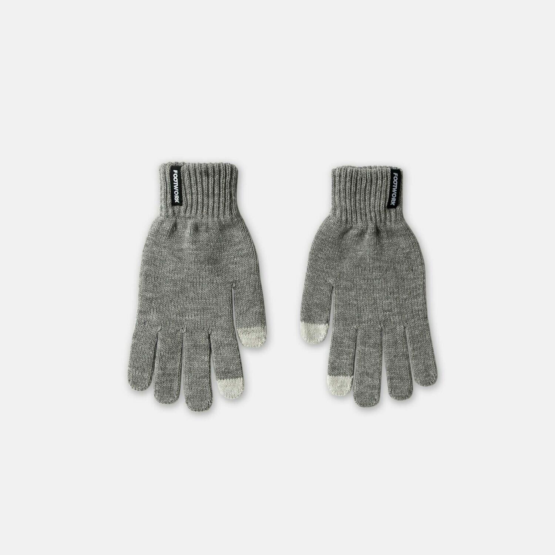 Вязаные перчатки Footwork iFingers Gray Heather