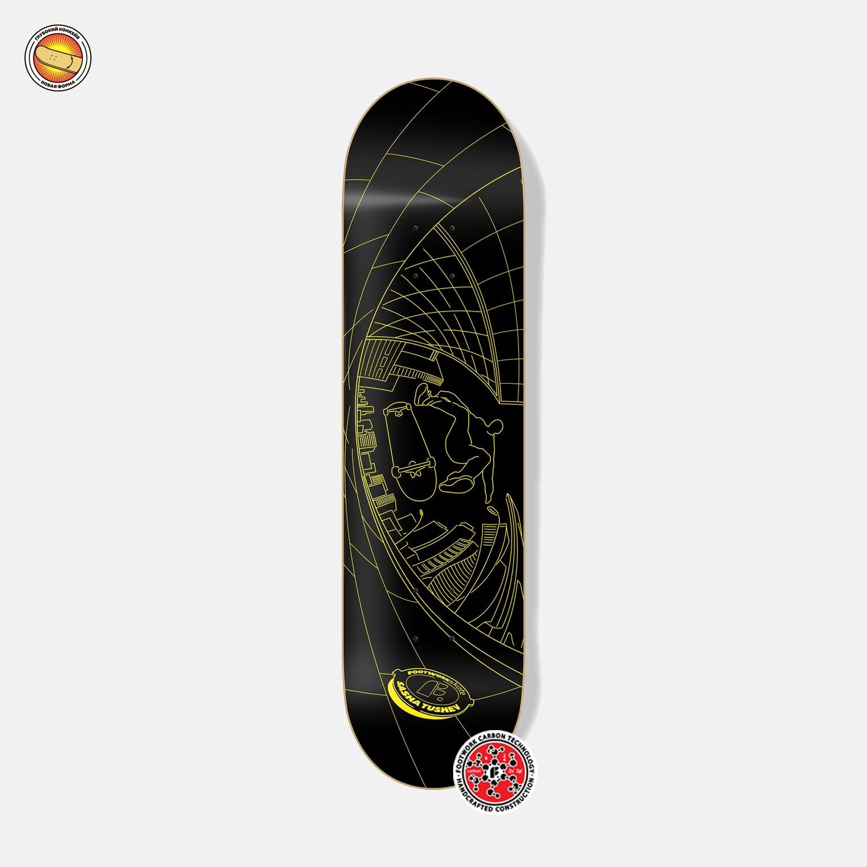 Дека Footwork Carbon Tushev Fisheye Yellow/Black | Промодель Саши Тушева