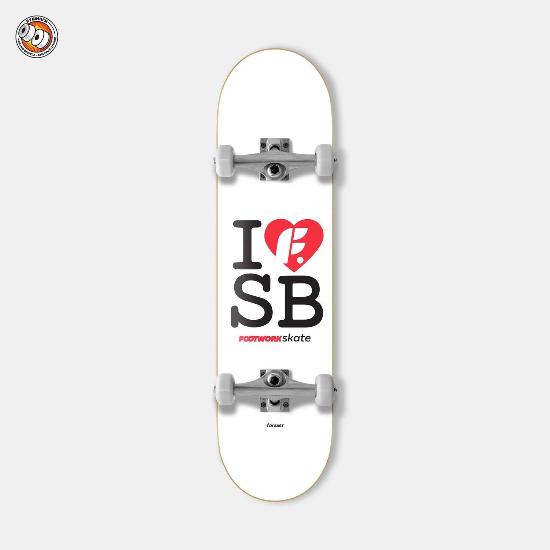 Скейтборд в сборе Footwork I F SB
