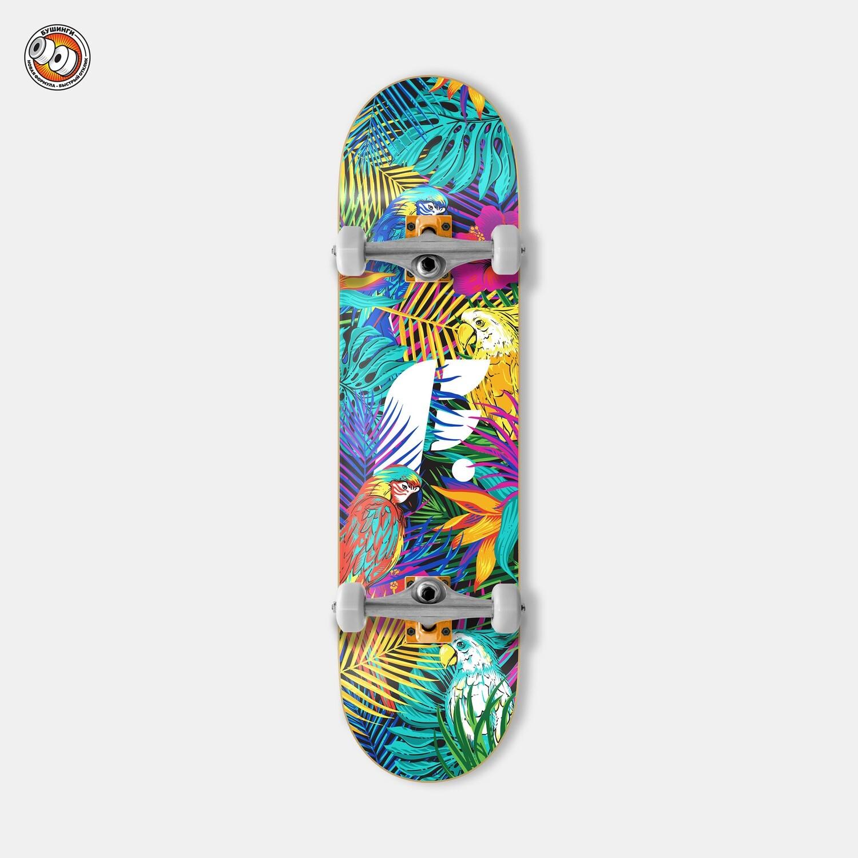 Скейтборд в сборе Footwork Tropical