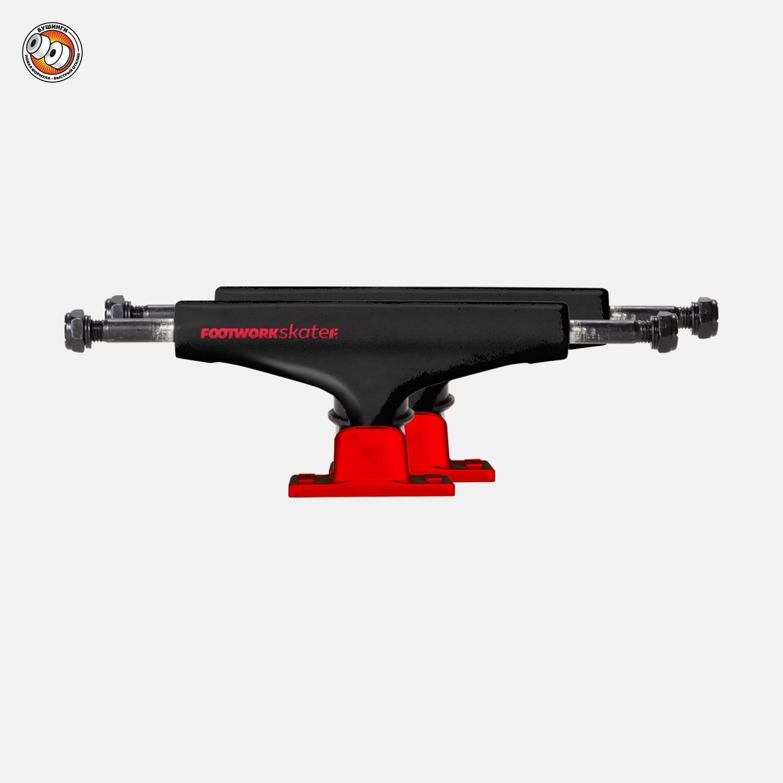 Комплект подвесок Footwork Label Red/Black