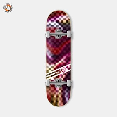 Скейтборд в сборе Footwork Blur Wine