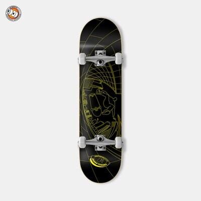 Скейтборд в сборе Footwork Tushev Fisheye Yellow Black
