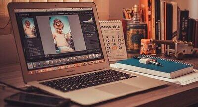הדרכה אונליין עריכת תמונות בתוכנת Lightroom