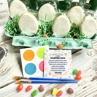 Paint Your Own Cookie Eggs