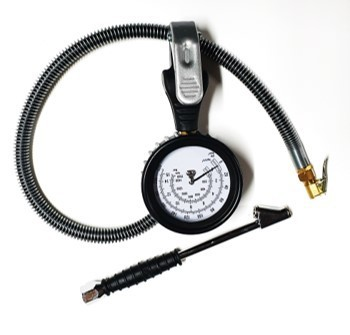 BEST DIAL TYPE GAUGE WITH CLIP-ON & HOLD-ON CONNECTOR