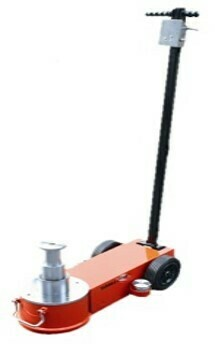 3-STAGE AIR/HYDRAULIC TROLLEY JACK, 50/25/10 TON