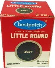 RO2 BEST TUBE PATCH 53MM, 32/BAG,
