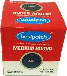 RO3/MEDIUM BEST TUBE PATCH 60MM, 30/BOX,