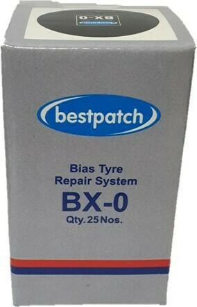 BX-0 BEST NAILHOLE PATCH, 25/BOX