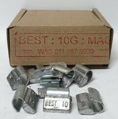 BEST MAG 10G LEAD WHEEL WEIGHT/50 PER BOX