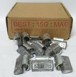 BEST MAG 15G LEAD WHEEL WEIGHT/50 PER BOX