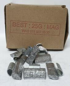 BEST MAG 25G LEAD WHEEL WEIGHT/50 PER BOX