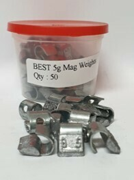 BEST MAG 5G LEAD WHEEL WEIGHT/50 PER BOX