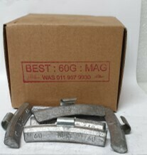 BEST MAG 60G LEAD WHEEL WEIGHT/50 PER BOX