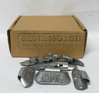 BEST STD 15G LEAD WHEEL WEIGHT/50 PER BOX
