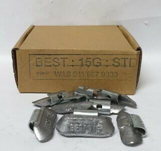 BEST STD 15G LEAD WHEEL WEIGHT/50 PER BOX