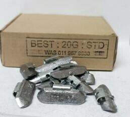 BEST STD 20G LEAD WHEEL WEIGHT/50 PER BOX