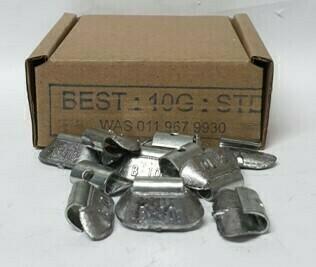 BEST STD 10G LEAD WHEEL WEIGHT/50 PER BOX