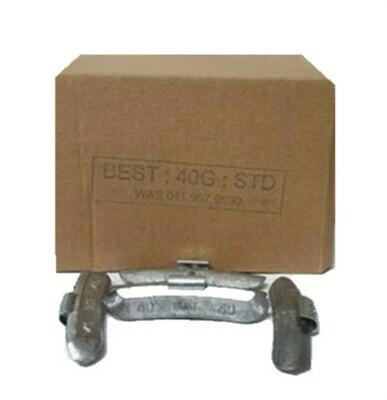 BEST STD 40G LEAD WHEEL WEIGHT/50 PER BOX