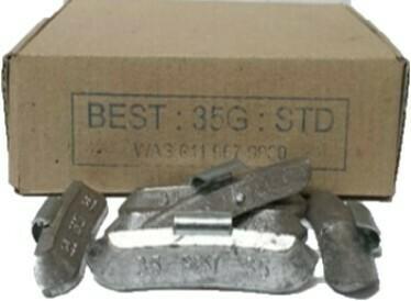 BEST STD 35LEAD WHEEL WEIGHT/50 PER BOX